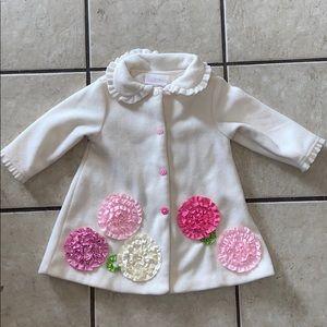 Baby girls 18 month coat jacket easter spring